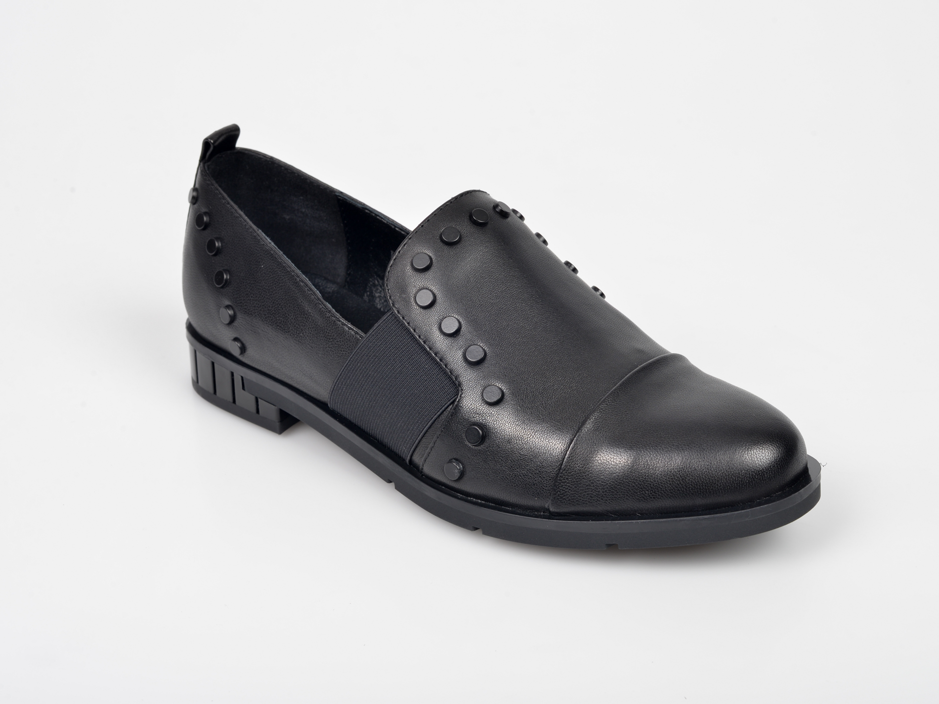 Pantofi 0 negri, Pantof Dama, din piele naturala