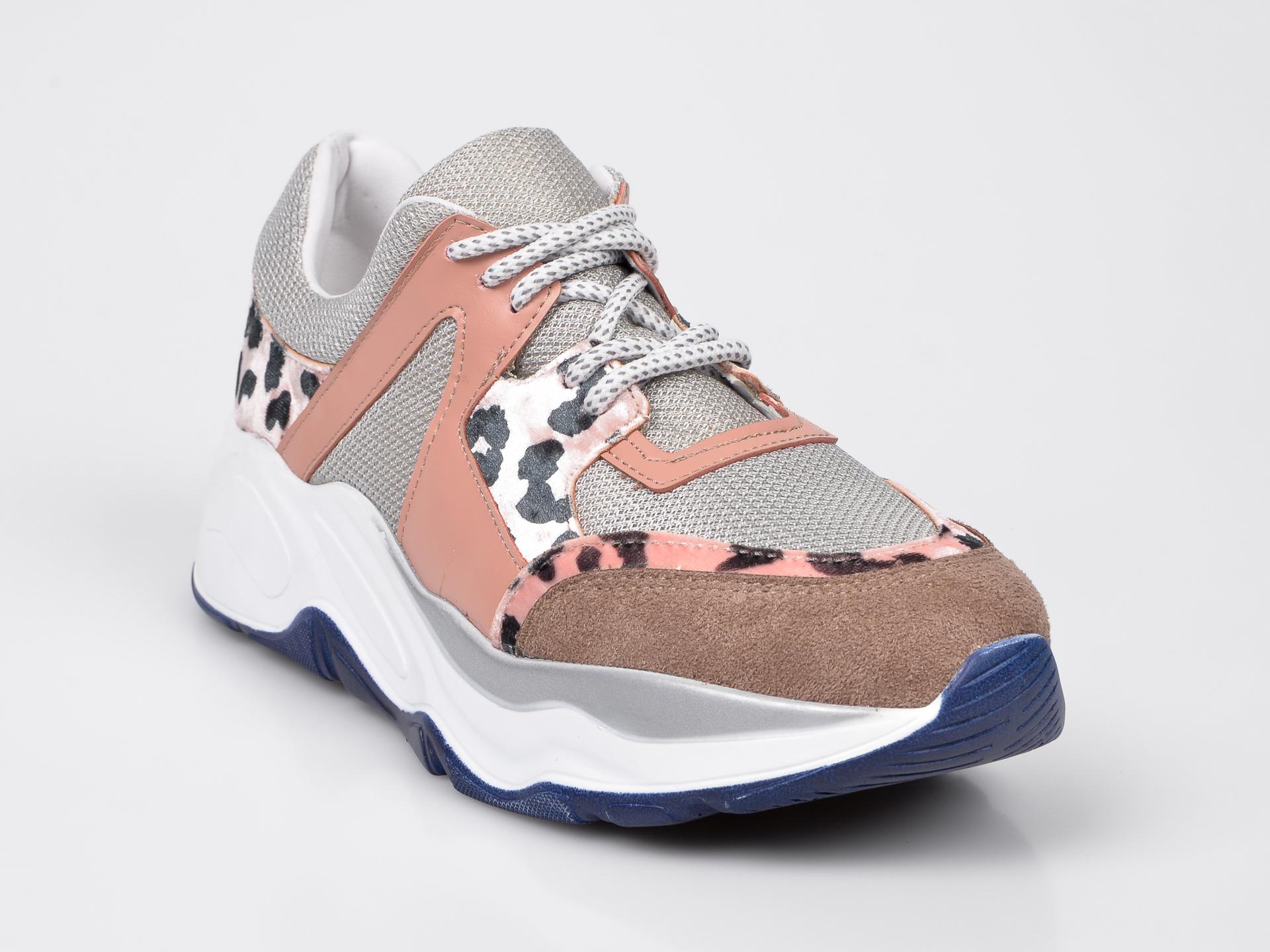 Pantofi 0 verzi, Pantof Dama, din piele ecologica