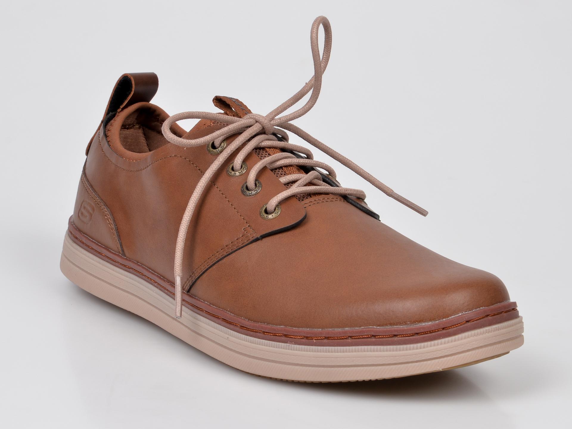 Pantofi Skechers Maro, 65877, Din Piele Naturala