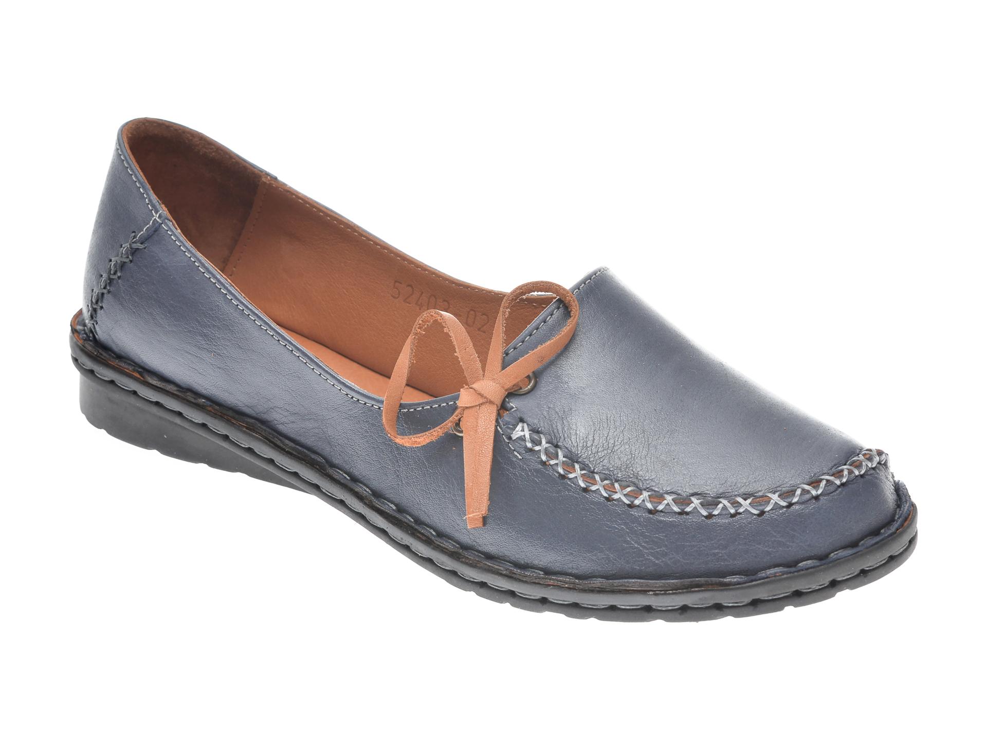 Pantofi Flavia Passini Bleumarin, 952403, Din Piele Naturala