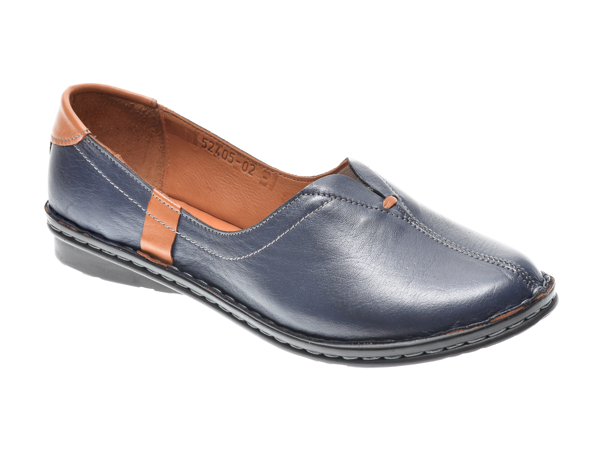 Pantofi Flavia Passini Bleumarin, 952405, Din Piele Naturala