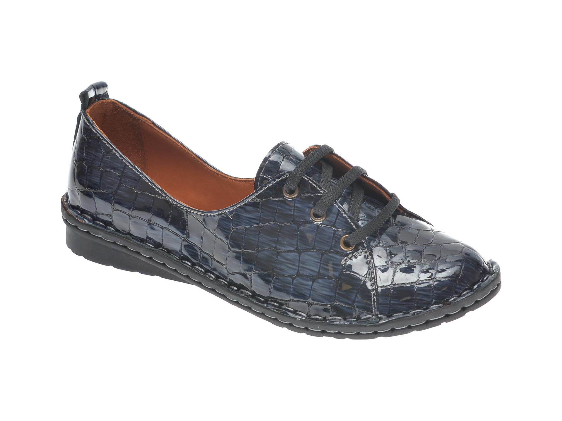Pantofi Flavia Passini Bleumarin, 952422, Din Piele Croco
