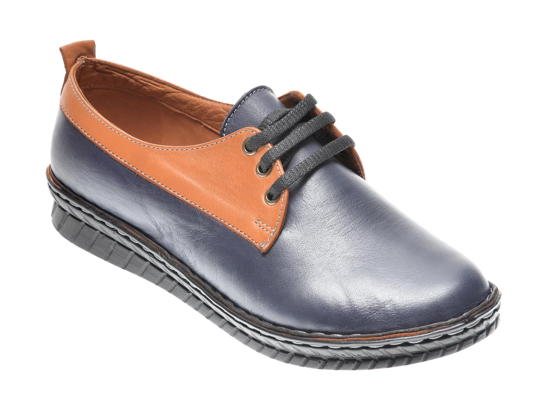 Pantofi Flavia Passini Bleumarin, 954555, Din Piele Naturala