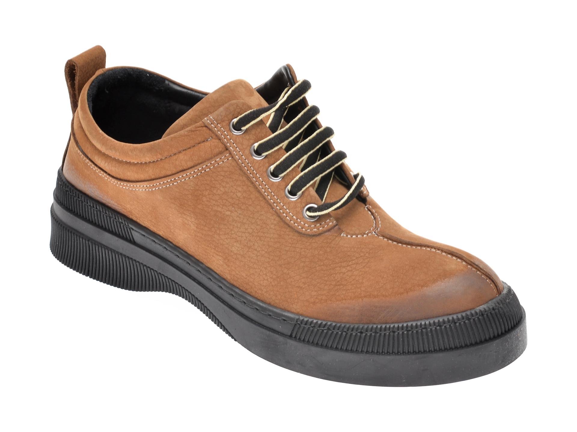 Pantofi Flavia Passini Maro, 925, Din Piele Naturala