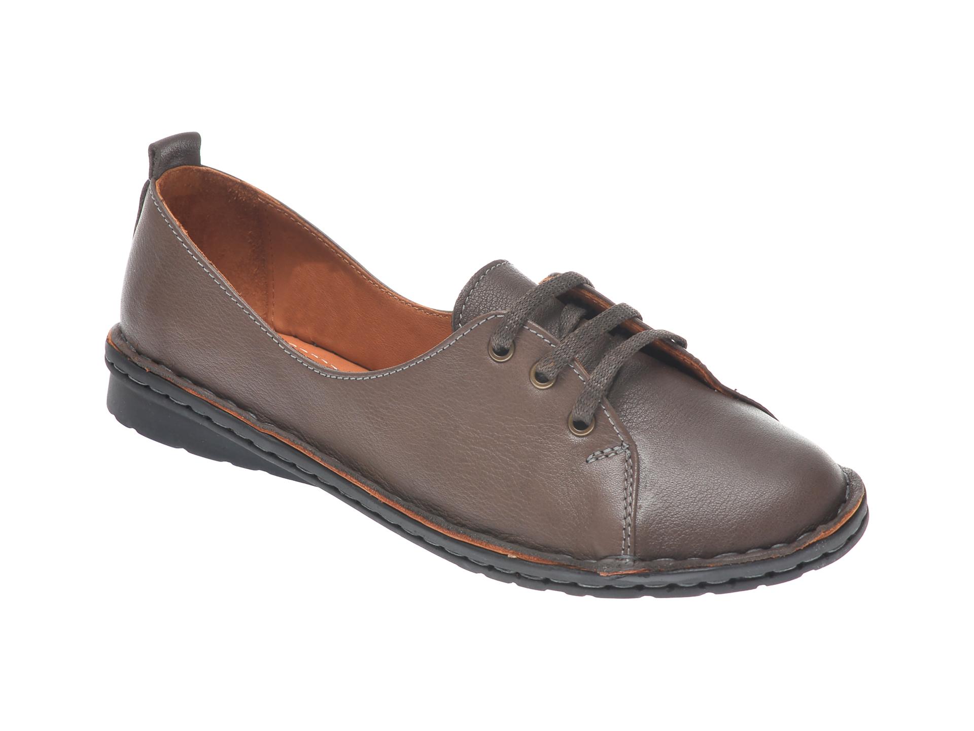 Pantofi Flavia Passini Maro, 952422, Din Piele Naturala