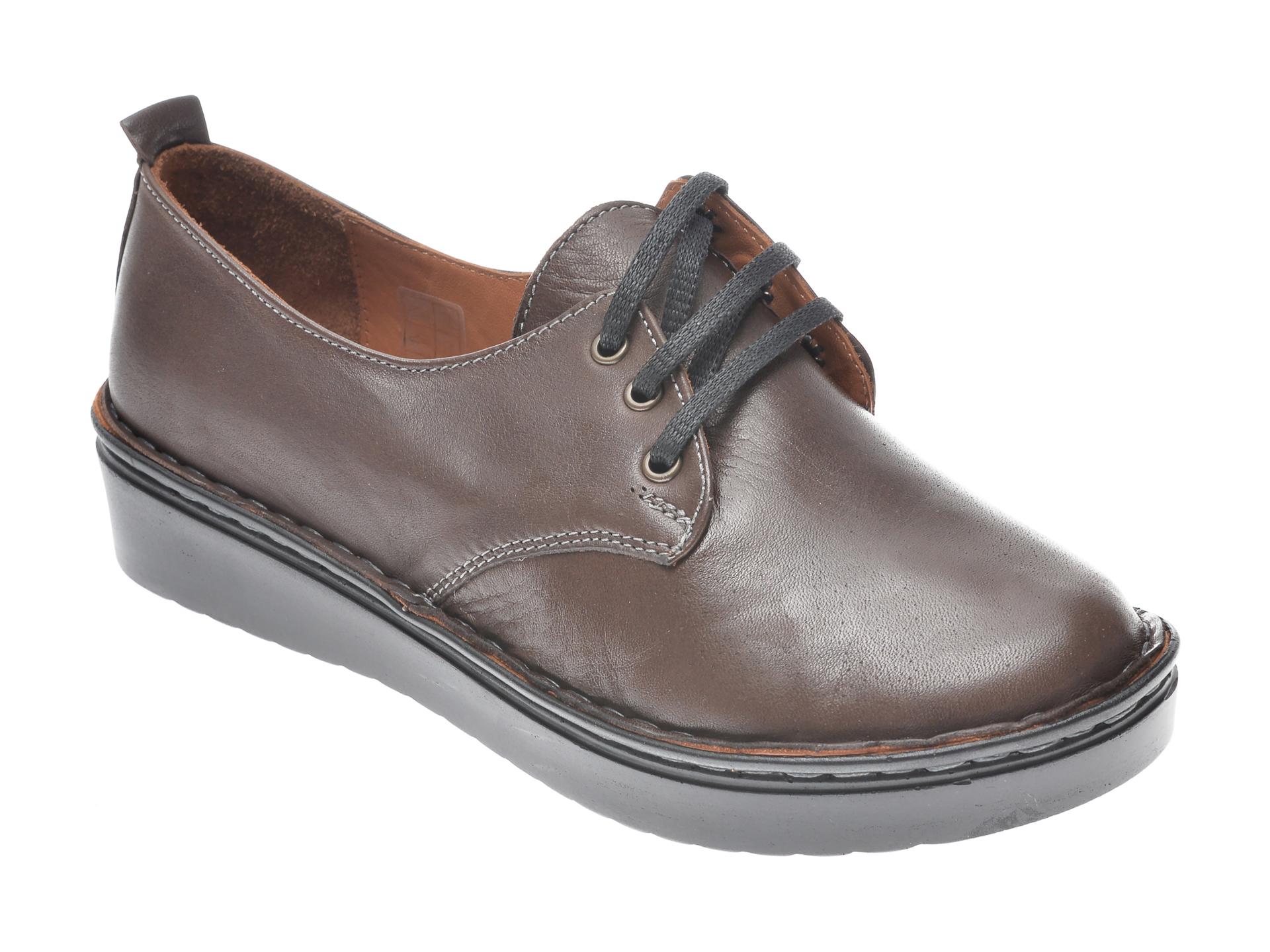 Pantofi Flavia Passini Maro, 953520, Din Piele Naturala
