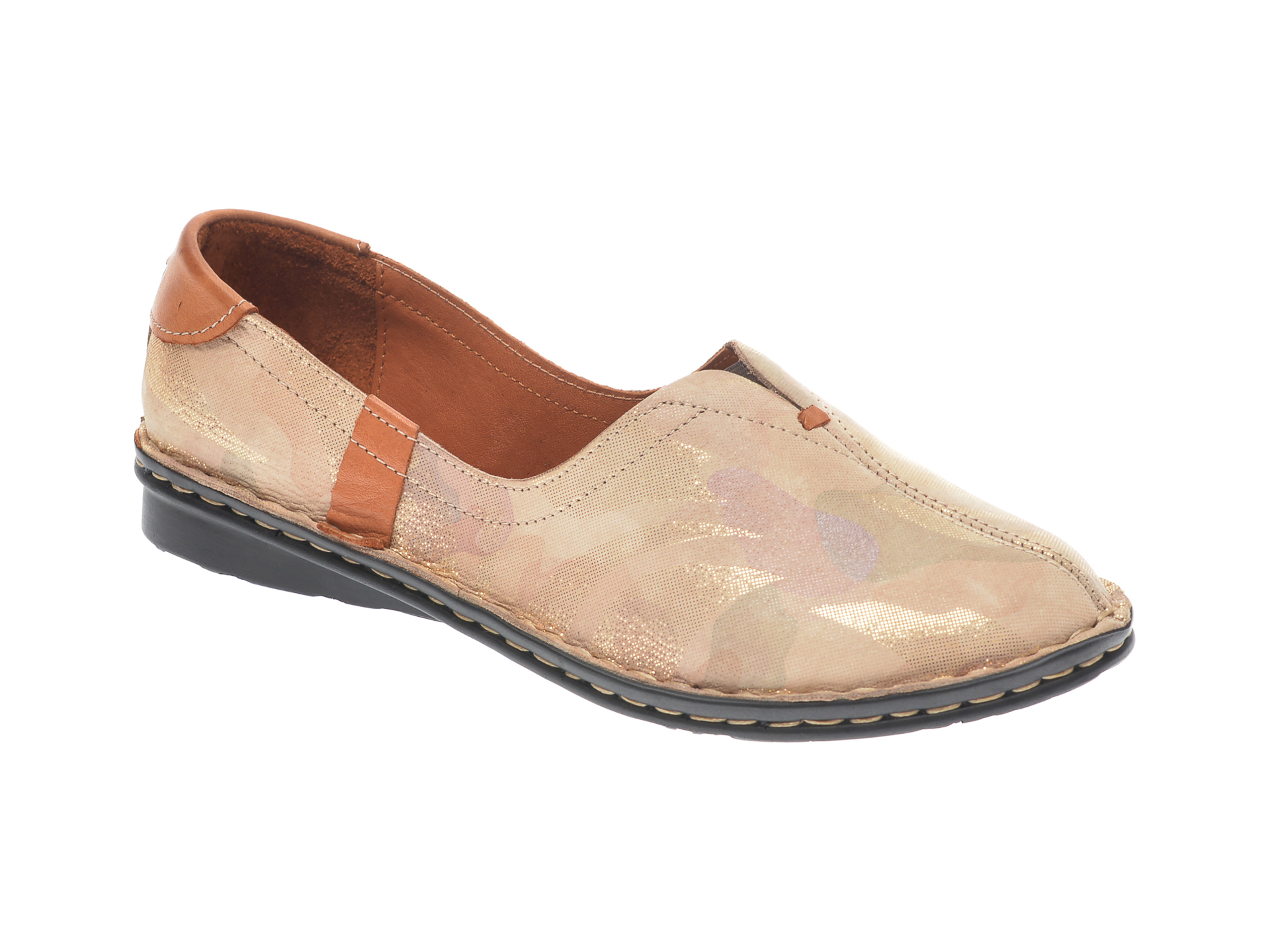 Pantofi Flavia Passini Multicolor, 952405, Din Piele Naturala