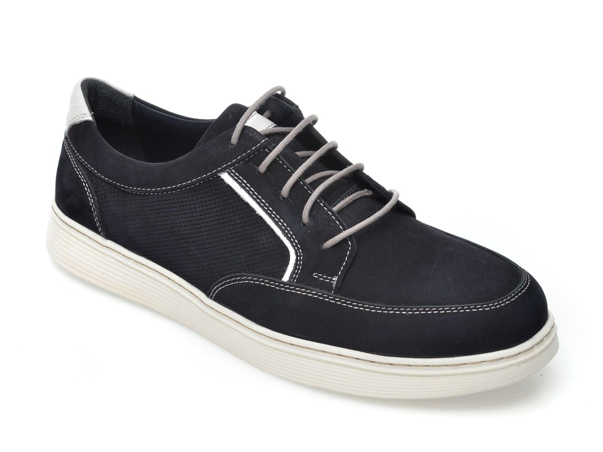 Pantofi Otter Bleumarin, 204108, Din Nabuc