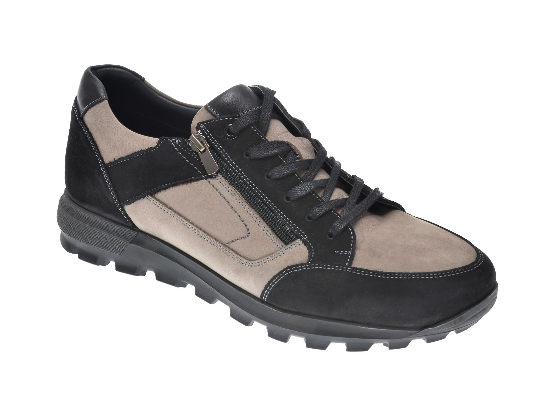 Pantofi Otter Negri, 27901, Din Nabuc