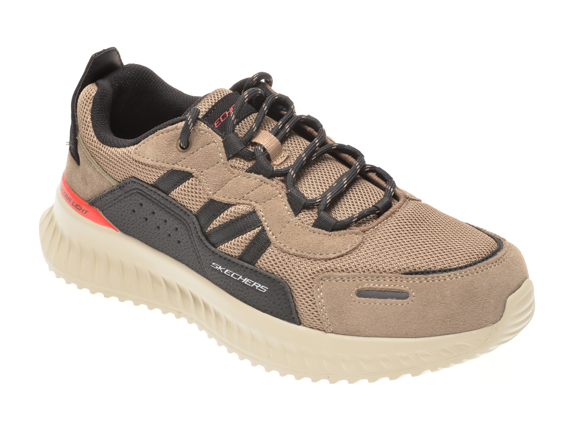 Pantofi Sport Skechers Maro, Matera 2.0 Ximino, Din Material Textil Si Piele Intoarsa